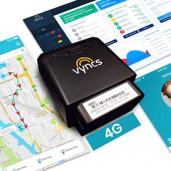 GPS Tracker for Vehicles Vyncs 4G LTE