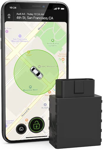 CARLOCK - 2nd Gen Advanced Real-Time 3G Car Tracker & Car Alarm